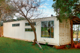Casa-contêiner de campo