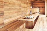 Pura inspiração: cabana rústica é moldada para uso contemporâneo