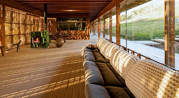 Pura inspiração: casa sustentável se adapta a todas as estações