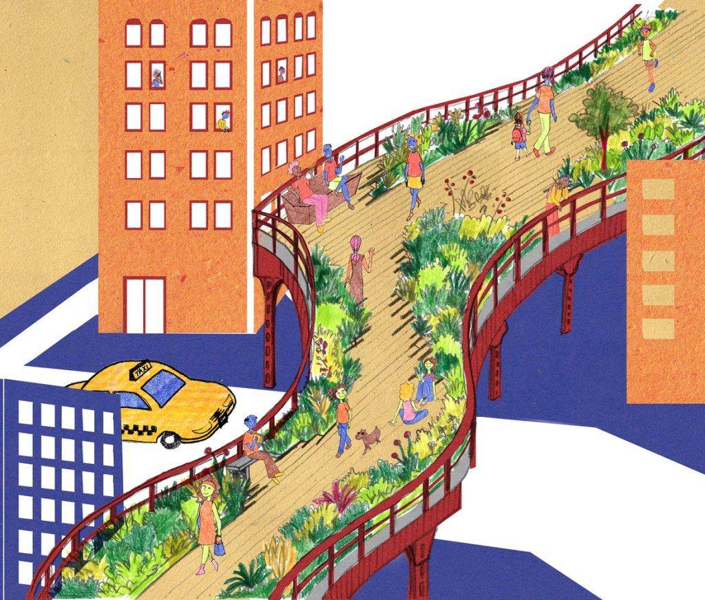 Livro infantil sobre urbanismo