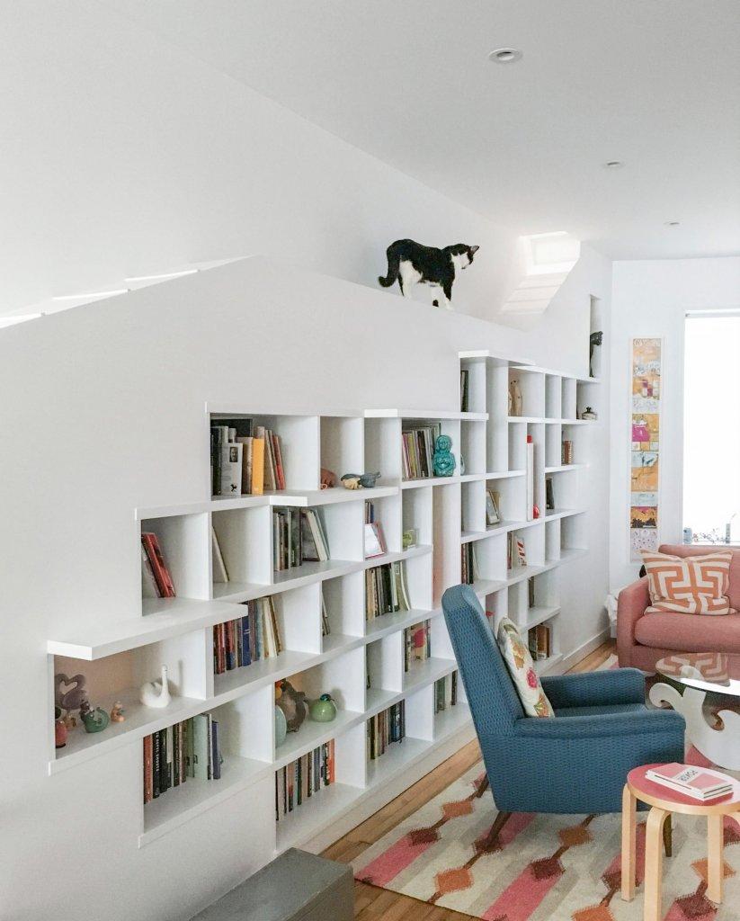 Casa adaptada para gatos